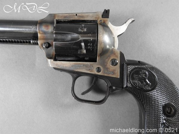 michaeldlong.com 19409 600x450 Colt New Frontier Deactivated .22 Revolver