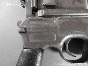 michaeldlong.com 19439 300x225 German Mauser C96 Deactivated Pistol