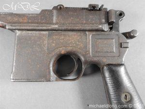 michaeldlong.com 19443 300x225 German Mauser C96 Deactivated Pistol