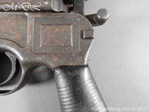 michaeldlong.com 19444 300x225 German Mauser C96 Deactivated Pistol