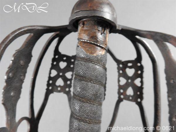 michaeldlong.com 19523 600x450 Highland Regiments 1857 Drummers Sword