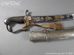 michaeldlong.com 19587 300x225 Georgian Blue & Gilt 1796 Officer's Sword