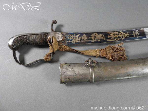 michaeldlong.com 19587 600x450 Georgian Blue & Gilt 1796 Officer's Sword
