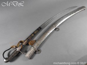 michaeldlong.com 19590 300x225 Georgian Blue & Gilt 1796 Officer's Sword