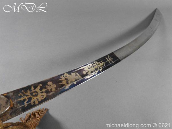 michaeldlong.com 19598 600x450 Georgian Blue & Gilt 1796 Officer's Sword