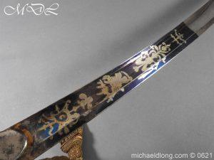 michaeldlong.com 19599 300x225 Georgian Blue & Gilt 1796 Officer's Sword
