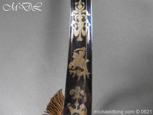 michaeldlong.com 19604 300x225 Georgian Blue & Gilt 1796 Officer's Sword
