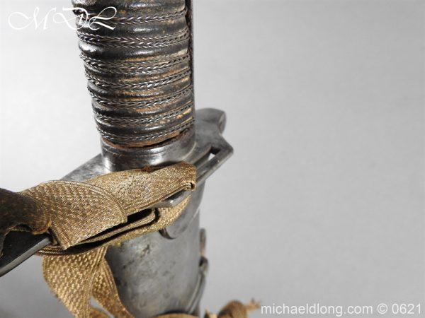 michaeldlong.com 19610 600x450 Georgian Blue & Gilt 1796 Officer's Sword