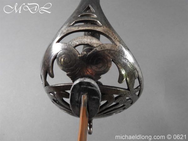 michaeldlong.com 19672 600x450 Heavy Cavalry British Officer's 1796 Undress Sword