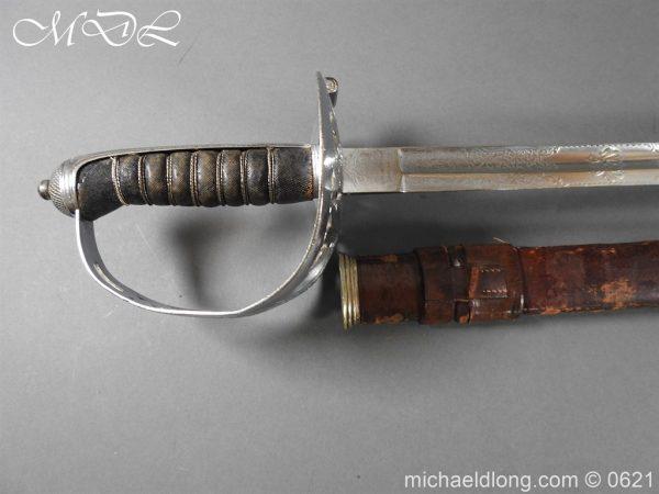 michaeldlong.com 19734 600x450 Hampshire Carabineers Officer's Sword by Wilkinson