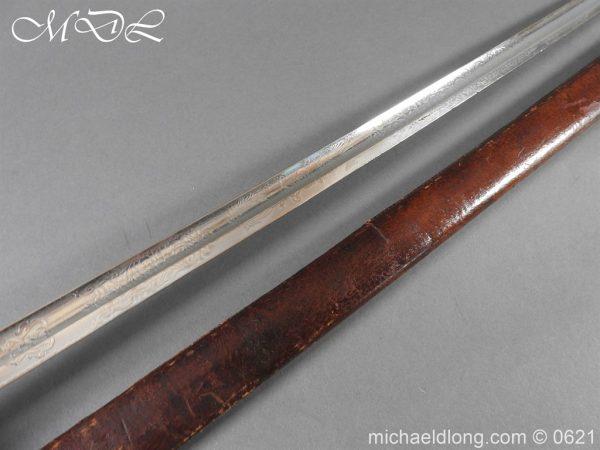 michaeldlong.com 19735 600x450 Hampshire Carabineers Officer's Sword by Wilkinson
