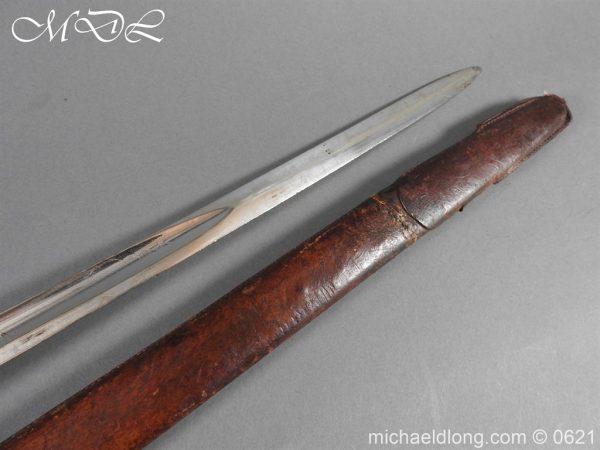 michaeldlong.com 19736 600x450 Hampshire Carabineers Officer's Sword by Wilkinson