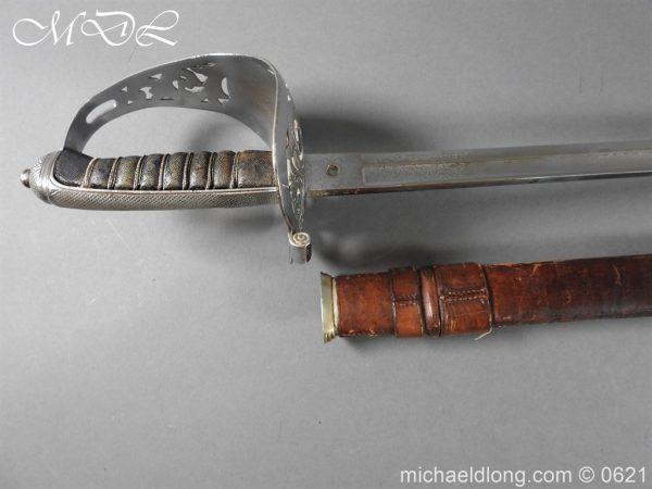 michaeldlong.com 19738 600x450 Hampshire Carabineers Officer's Sword by Wilkinson