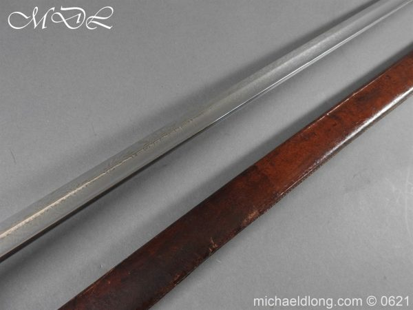 michaeldlong.com 19739 600x450 Hampshire Carabineers Officer's Sword by Wilkinson