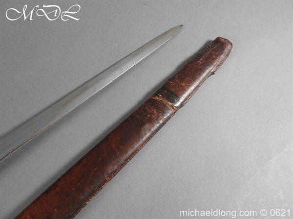 michaeldlong.com 19740 600x450 Hampshire Carabineers Officer's Sword by Wilkinson