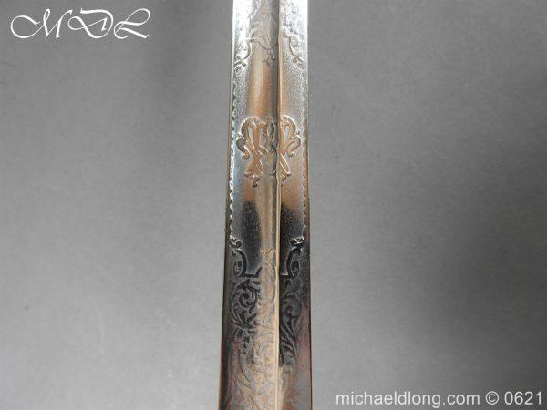 michaeldlong.com 19746 600x450 Hampshire Carabineers Officer's Sword by Wilkinson