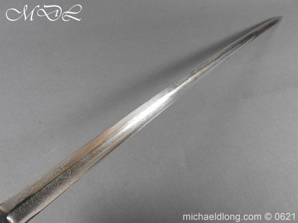 michaeldlong.com 19751 600x450 Hampshire Carabineers Officer's Sword by Wilkinson