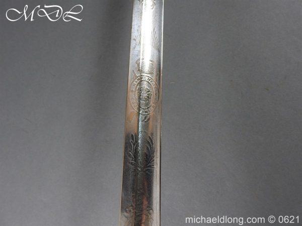 michaeldlong.com 19754 600x450 Hampshire Carabineers Officer's Sword by Wilkinson