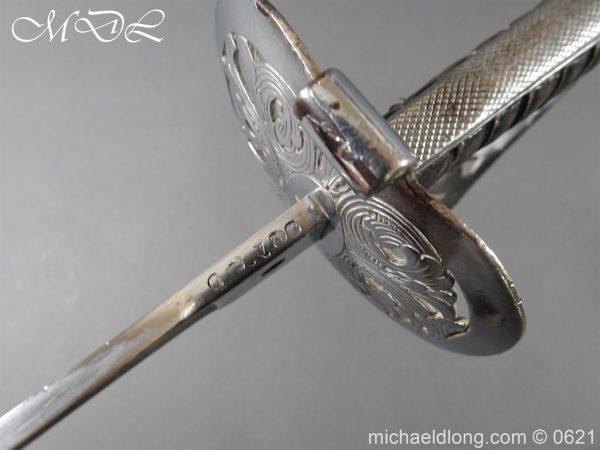michaeldlong.com 19757 600x450 Hampshire Carabineers Officer's Sword by Wilkinson