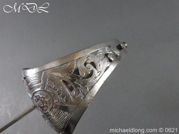 michaeldlong.com 19760 600x450 Hampshire Carabineers Officer's Sword by Wilkinson