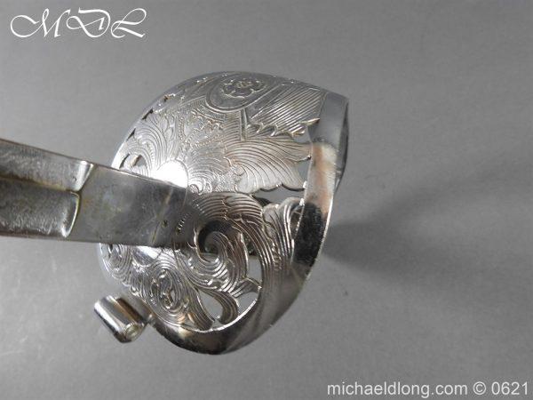 michaeldlong.com 19763 600x450 Hampshire Carabineers Officer's Sword by Wilkinson