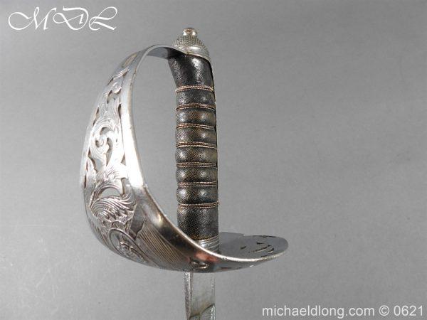 michaeldlong.com 19764 600x450 Hampshire Carabineers Officer's Sword by Wilkinson