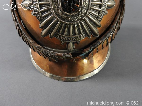 michaeldlong.com 19768 600x450 Prussian Garde Du Corps Other Ranks Helmet