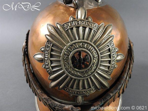 michaeldlong.com 19769 600x450 Prussian Garde Du Corps Other Ranks Helmet
