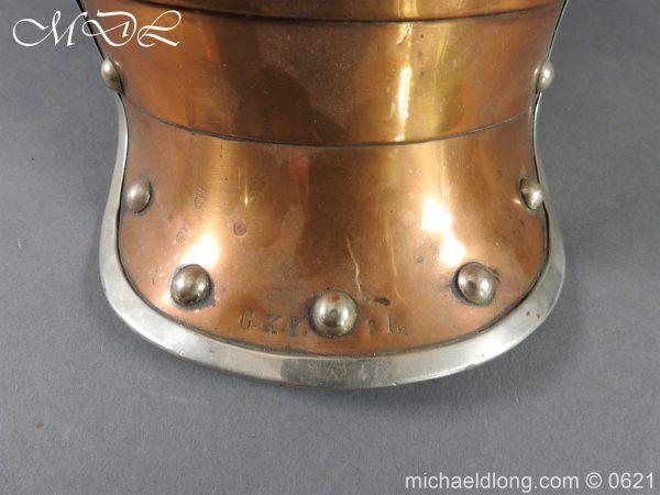 michaeldlong.com 19778 600x450 Prussian Garde Du Corps Other Ranks Helmet