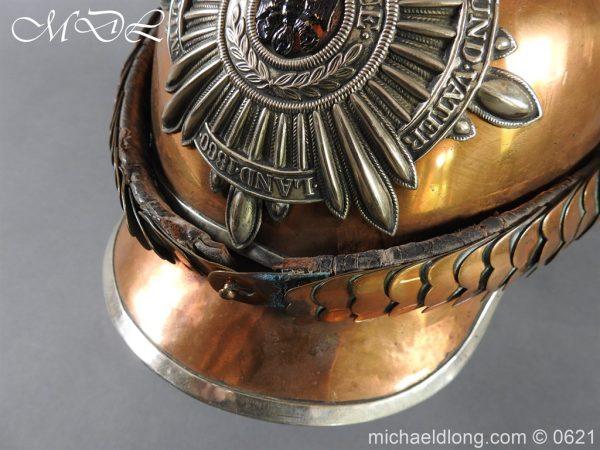 michaeldlong.com 19783 600x450 Prussian Garde Du Corps Other Ranks Helmet