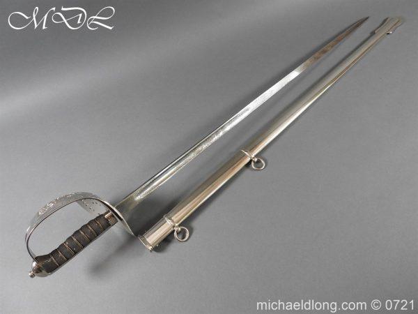 michaeldlong.com 20269 600x450 Victorian Infantry 1897 Officer's Sword