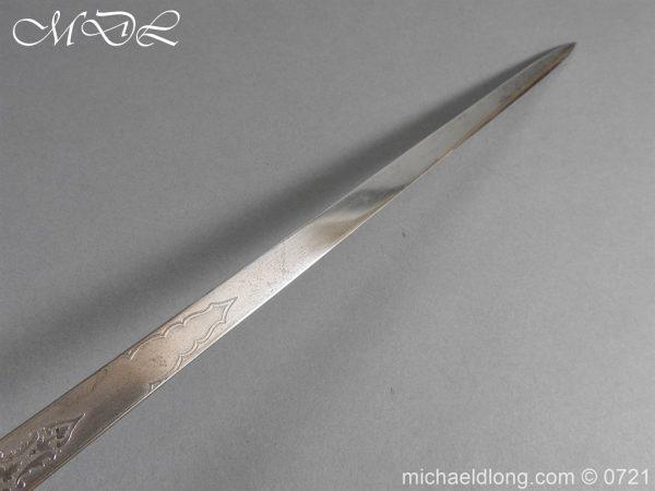 michaeldlong.com 20284 600x450 Victorian Infantry 1897 Officer's Sword