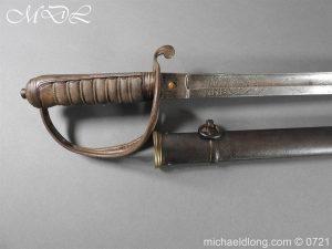 michaeldlong.com 20520 300x225 18th Hussars 1821 Officer's Sword by Wilkinson