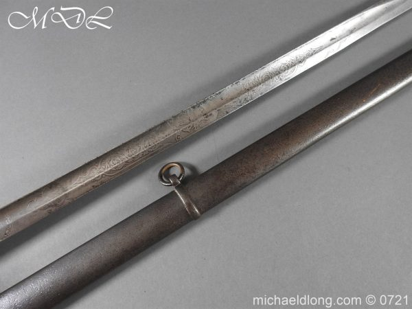 michaeldlong.com 20521 600x450 18th Hussars 1821 Officer's Sword by Wilkinson