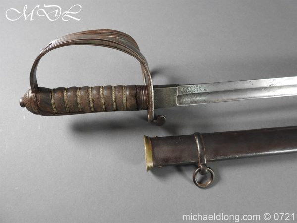 michaeldlong.com 20524 600x450 18th Hussars 1821 Officer's Sword by Wilkinson