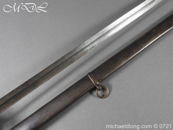 michaeldlong.com 20525 600x450 18th Hussars 1821 Officer's Sword by Wilkinson