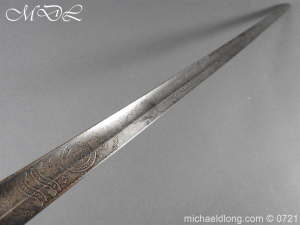 michaeldlong.com 20529 600x450 18th Hussars 1821 Officer's Sword by Wilkinson