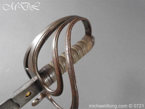 michaeldlong.com 20544 600x450 18th Hussars 1821 Officer's Sword by Wilkinson