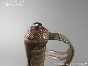 michaeldlong.com 20547 300x225 18th Hussars 1821 Officer's Sword by Wilkinson