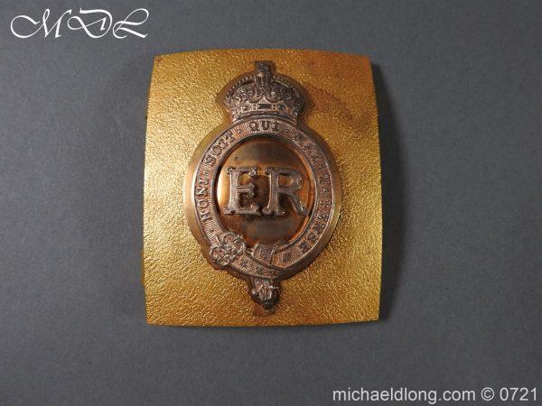 michaeldlong.com 20550 600x450 Royal Horse Guards Shoulder Belt Plate