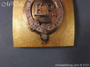 michaeldlong.com 20551 300x225 Royal Horse Guards Shoulder Belt Plate
