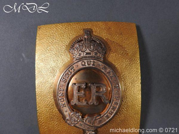 michaeldlong.com 20552 600x450 Royal Horse Guards Shoulder Belt Plate