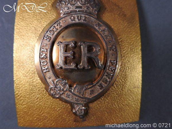 michaeldlong.com 20553 600x450 Royal Horse Guards Shoulder Belt Plate