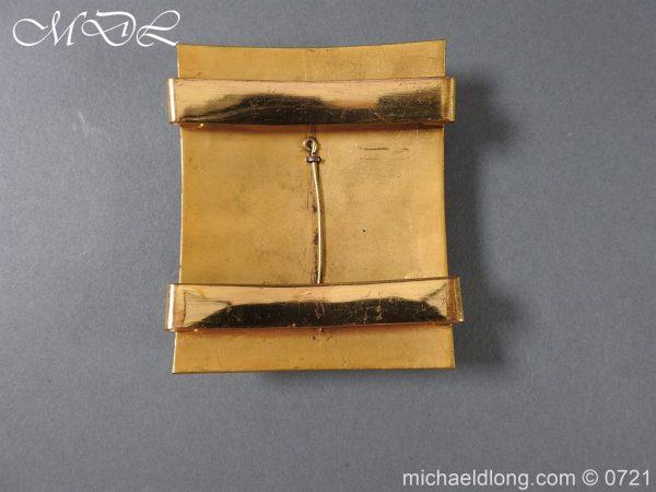 michaeldlong.com 20554 600x450 Royal Horse Guards Shoulder Belt Plate