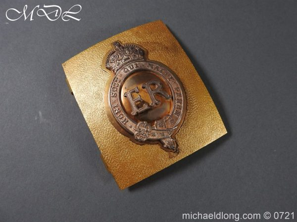 michaeldlong.com 20557 600x450 Royal Horse Guards Shoulder Belt Plate