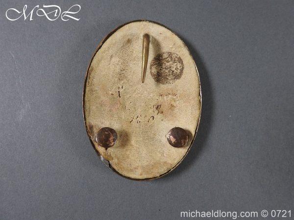 michaeldlong.com 20561 600x450 Craven Legion Yeomanry Cavalry Officer's Belt Plate