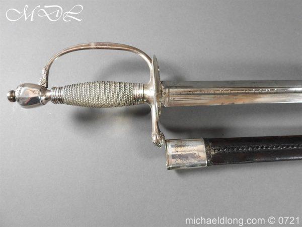 michaeldlong.com 20570 600x450 Silver Mounted 1796 Infantry Officer's Sword