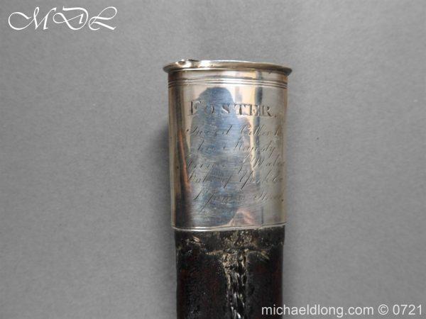 michaeldlong.com 20577 600x450 Silver Mounted 1796 Infantry Officer's Sword