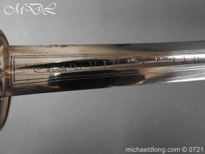 michaeldlong.com 20581 300x225 Silver Mounted 1796 Infantry Officer's Sword