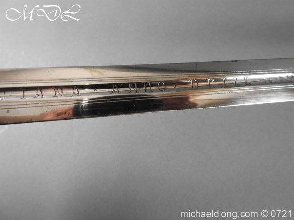 michaeldlong.com 20582 600x450 Silver Mounted 1796 Infantry Officer's Sword